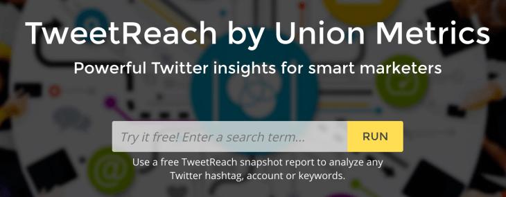 Con TweetReach puedes medir el alcance de tus mensajes en Twitter y descubrir influencers