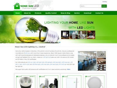 ledlamp Web design