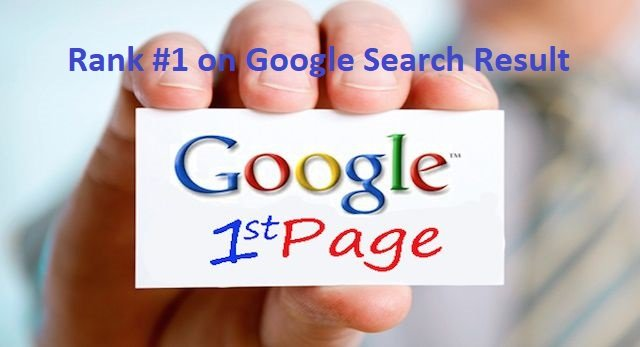 Rank #1 on Google Search Result in 2019