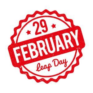 Happy Leap Year - marketing efforts