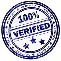 logo for verification