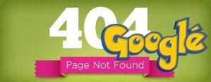 Google об 404 ошибках