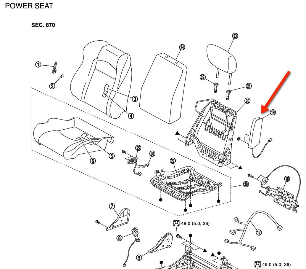 370z Side Airbag Module