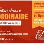 Consultation Composition de la classe