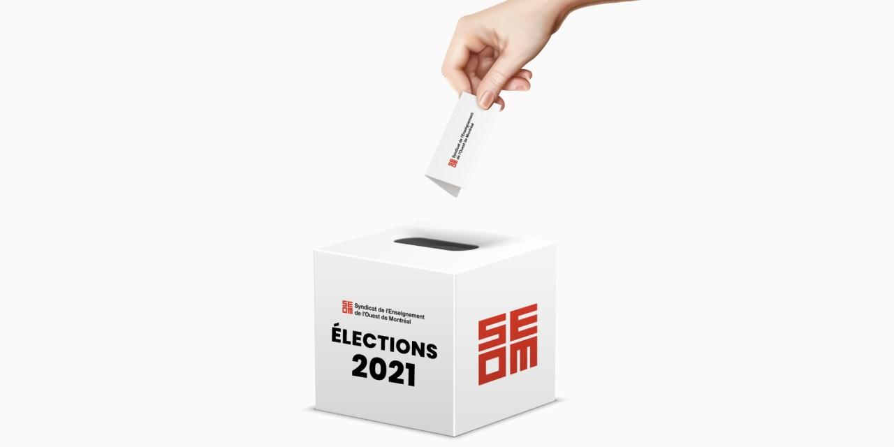Élection au CA du SEOM le mercredi 12 mai 2021