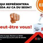 Élection au CA du SEOM pour l'EDA