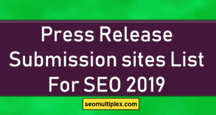 press release sites