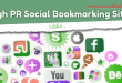 high pr socialbookmarking sites