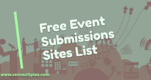 event submission sites