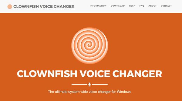 Clownfish Voice Changer