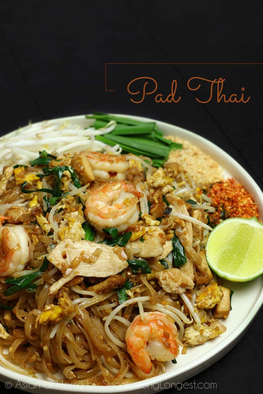 The Best Pad Thai Recipe Video Seonkyoung Longest