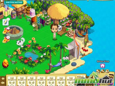 Facebook Фейсбук игра - Treasure Isle
