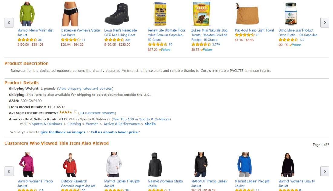 Producto en Amazon