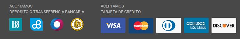 Formas de pago Crédito Económico.