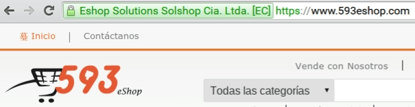 uso de https en una tienda en línea en el Ecuador