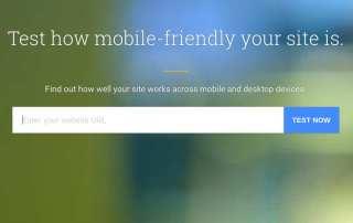 Nueva herramienta de Google para comprobar la velocidad de carga y la optimización para móviles.