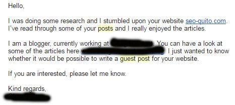 Oferta de escribir un Guest Post.