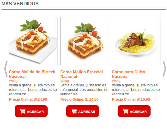 Supermercado online en Perú.