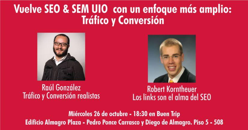 Meetup SEO/SEM Quito