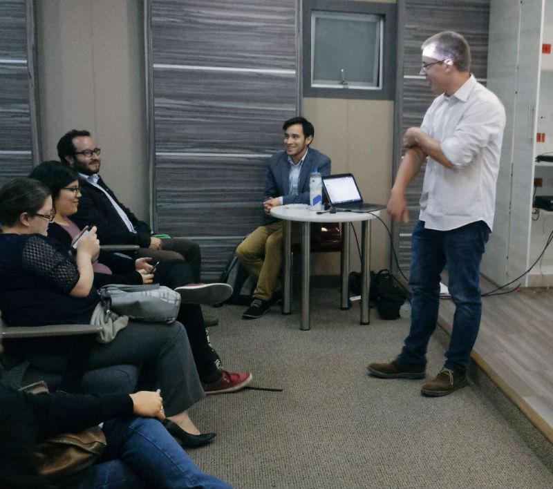 Meetup Tráfico y Conversión Quito: Links son el alma del SEO.