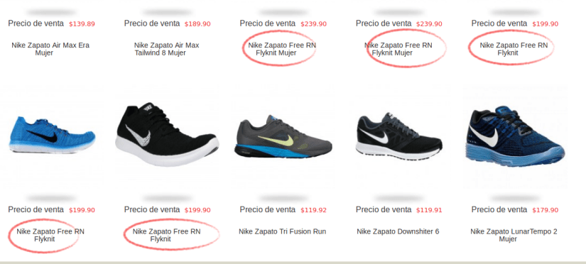 Zapatillas Nike Flyknit en marathon Sports.