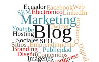 Blogs sobre temas como SEO, SEM, marketing online, comercio electrónico, etc.