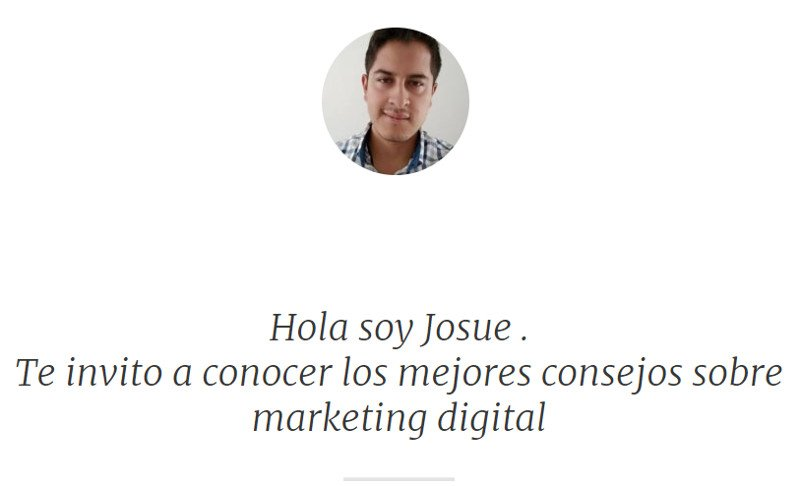 Blog de Josue Acuña.