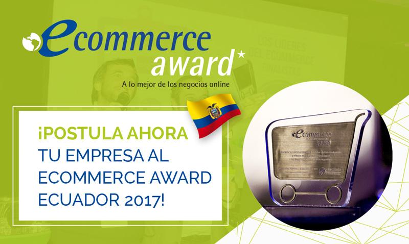 eCommerce Awards Ecuador 2017.