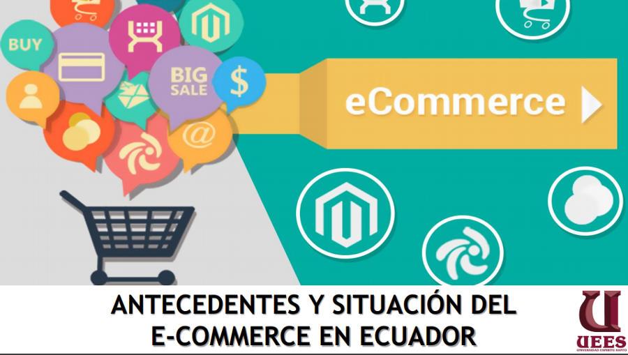 Primer estudio sobre el comercio en línea en el Ecuador.