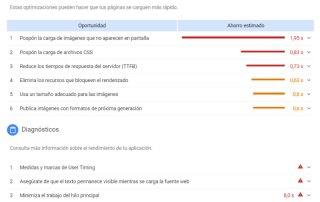 Nueva versión de Google Page Speed Insights