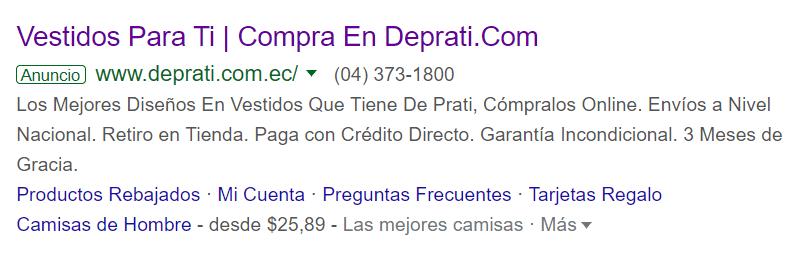 Publicidad DePrati.