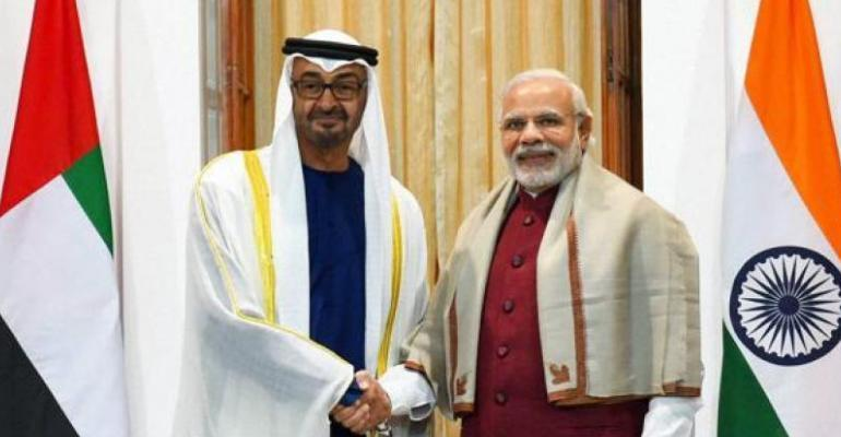 UAE highest award for a normal citizen to PM Modi