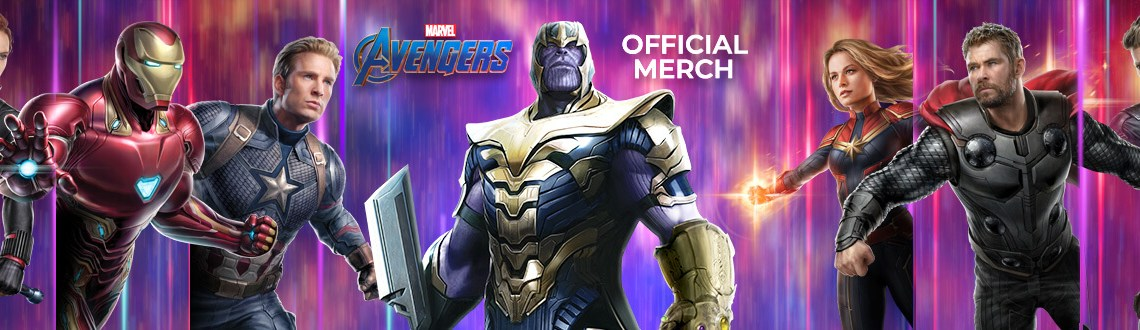 Banner of Marvel Avengers Tshirts, Jeans, Mobile Cover, Key chain image