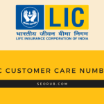Do you need a lic customer care number?