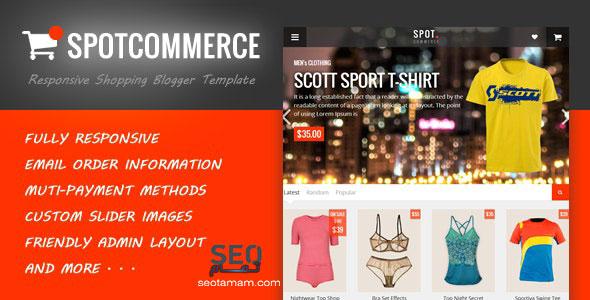 SpotCommerce-قالب-التسويق-في-بلوجر