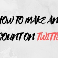 How to Make an account on Twitter