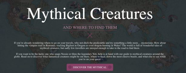 expedia mythical creatures