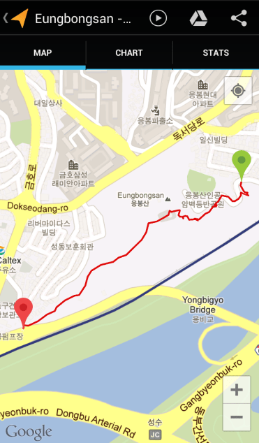 Eungbongsan (33:47, 0.91 km)