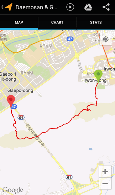 Daemosan & Guryeongsan (2:44:11, 4.53 km)