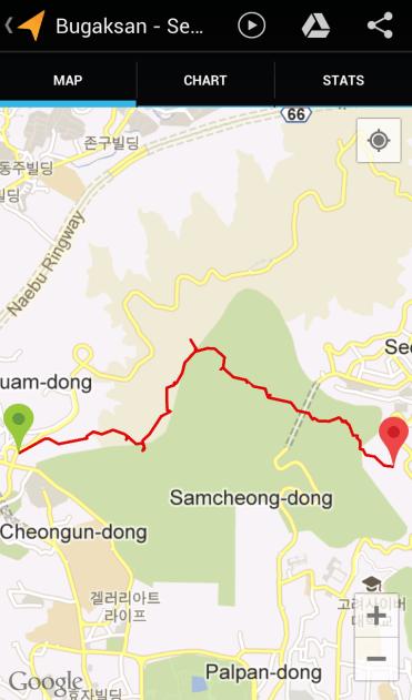 Bugaksan (2:19:19, 3.38 km)