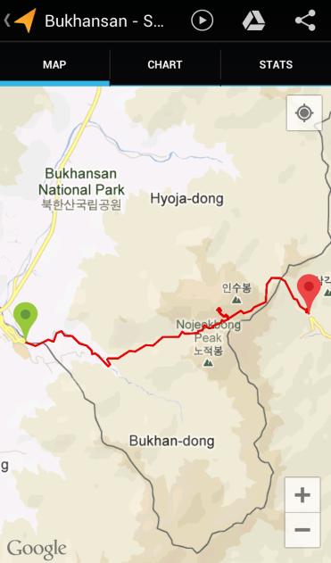 Bukhansan (4:26:46, 6.96 km)