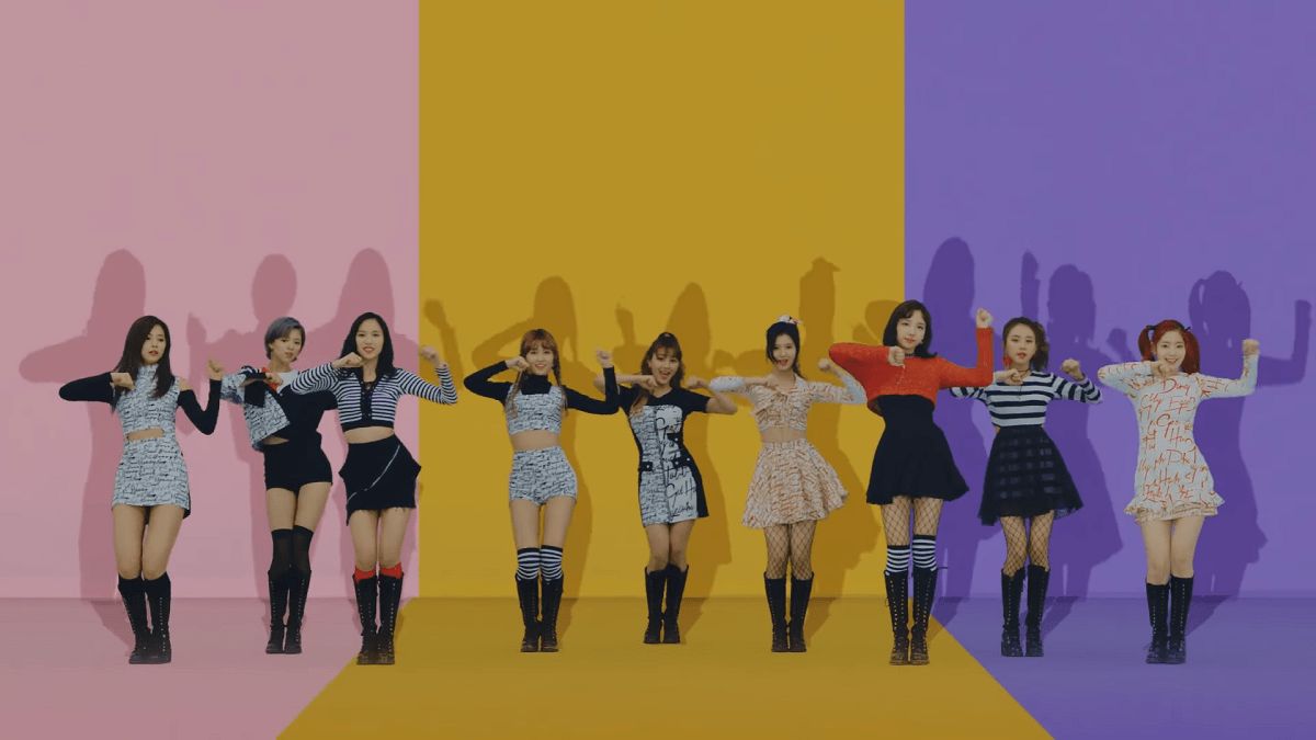 "Twice Jokes Around in ""Knock Knock"""