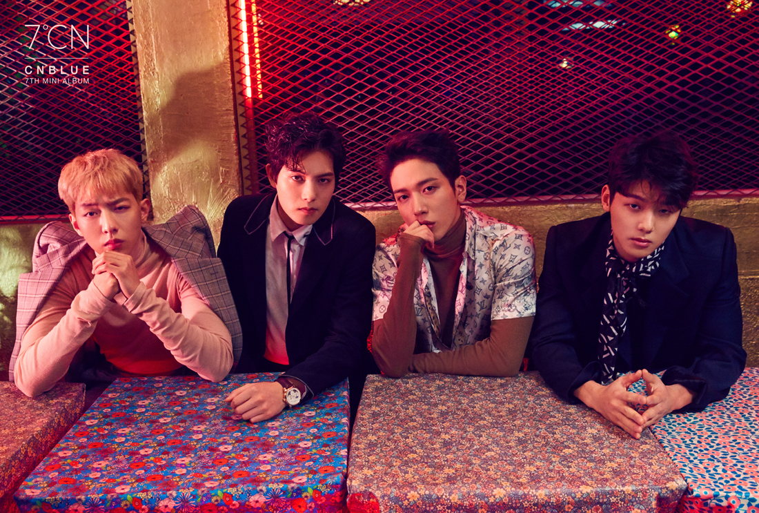CN Blue Delivers with 7ºCN