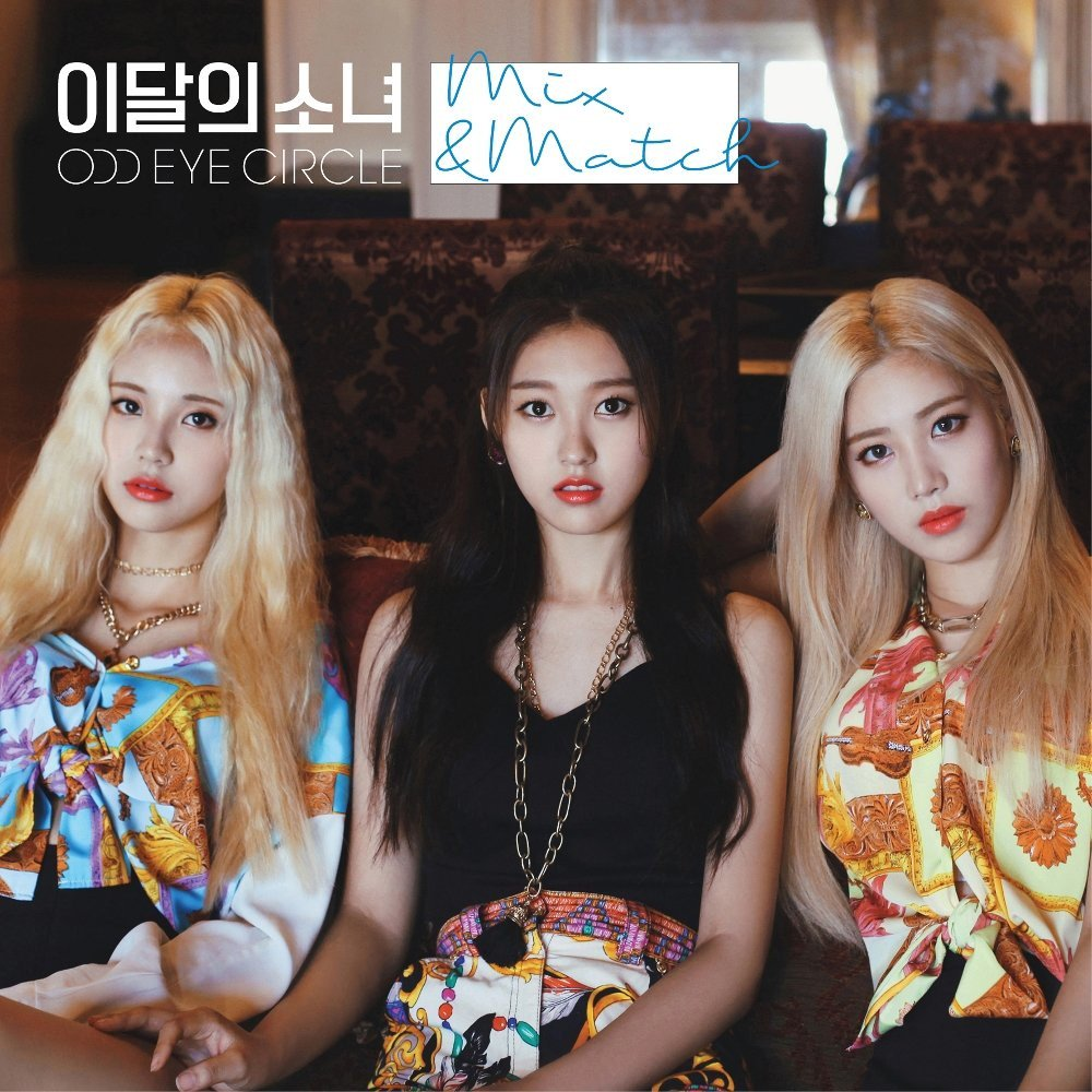 LOONA Odd Eye Circle Play It Cool with Mix and Match
