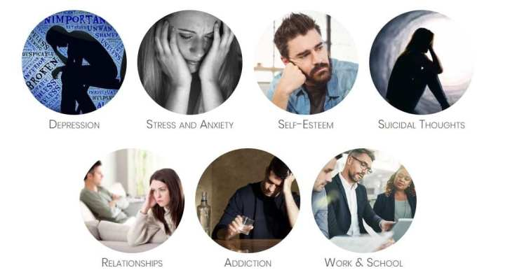 Our mental health services include individual and group therapy for problems such as depression, anxiety, addition, and self-esteem issues.