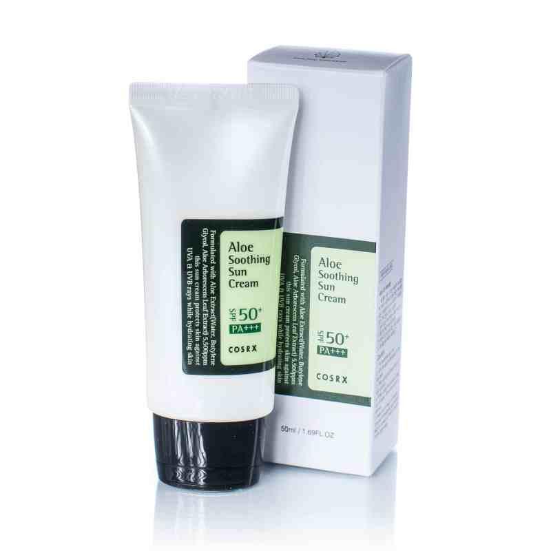 Cosrx Aloe soothing sun cream K-beauty skincare South Africa
