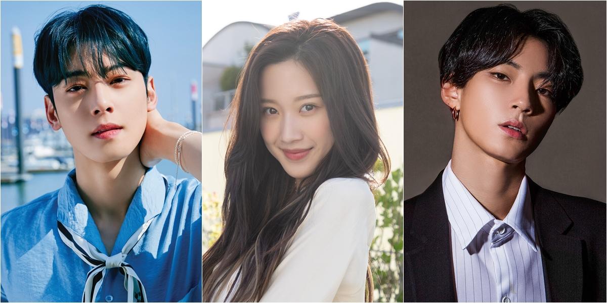 "ASTRO's Cha Eun-woo, Moon Ga-young and Hwang In-yeop To Lead ""True Beauty"" Drama Adapation"