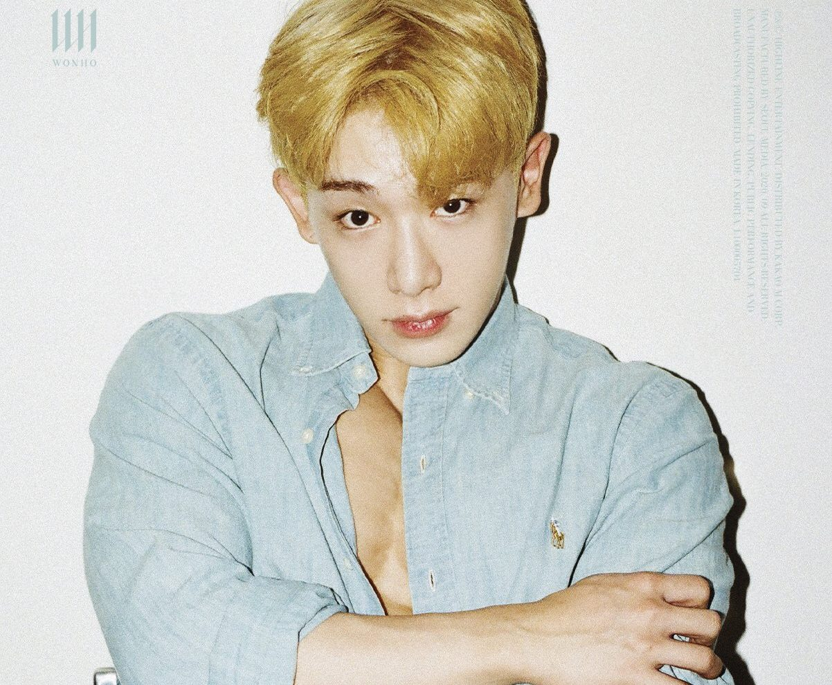 Wonho Is The Definition Of The Word Flawless In Fourth Set Of Concept Photos