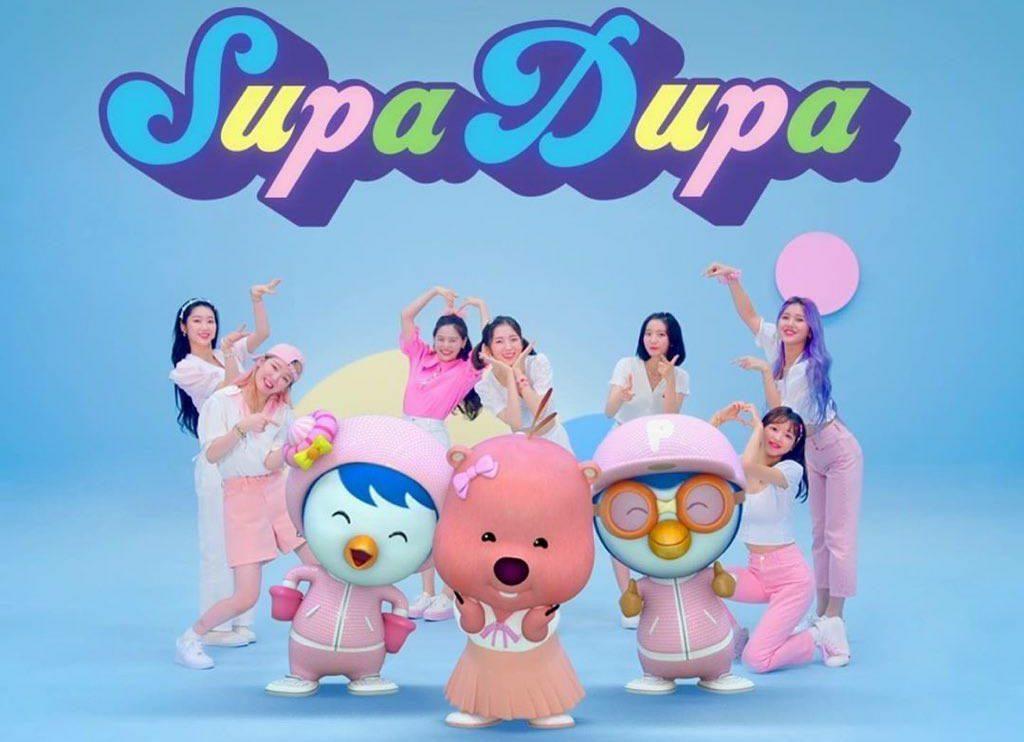 "Oh My Girl x Pororo Release A Super Sweet ""SUPADUPA"" Music Video"