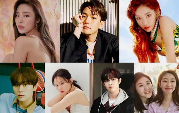EXO's Baekhyun, SEVENTEEN's Seungkwan, MAMAMOO's Wheein & More To Participate In The OST Of 'Record Of Youth'